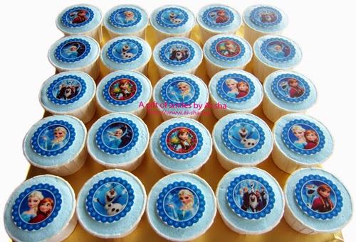 Disney Frozen Cupcake