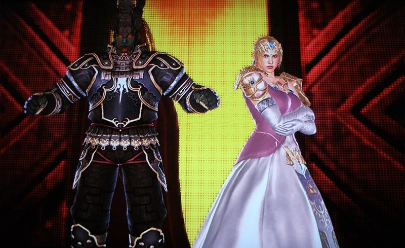 Tekken Tag Nintendo Characters