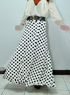 Skirt Labuh 670dot White