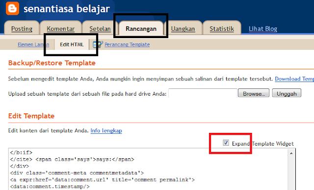 rancangan html