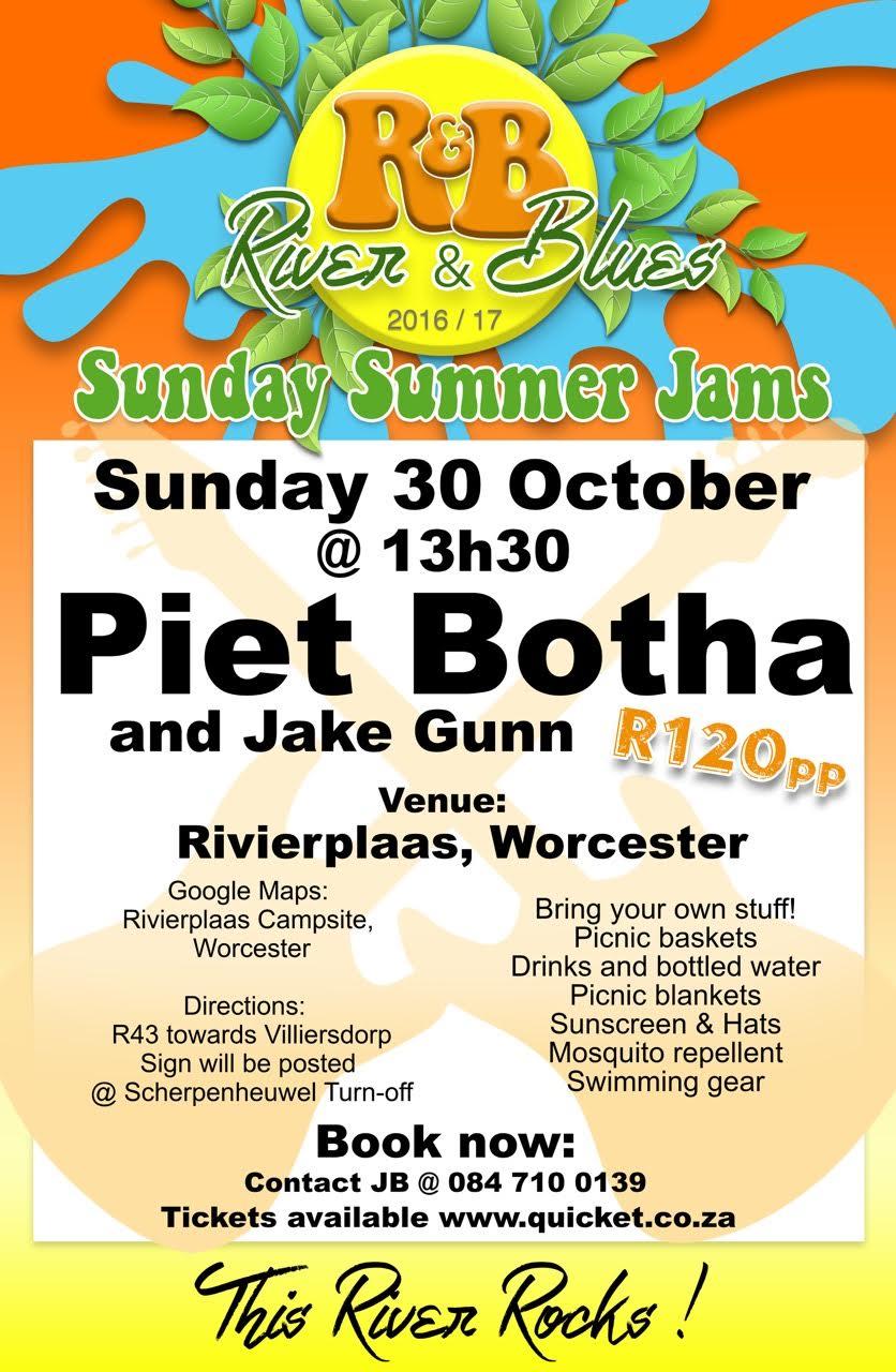 Piet Botha LIVE @ Rivierplaas Campsite