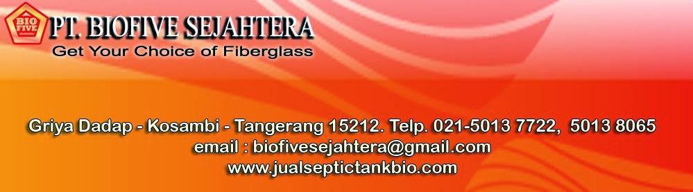 septic tank biofive ramah lingkungan, septic tank modern