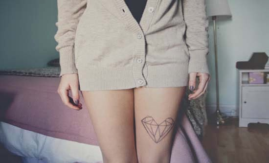 tatuagem perna