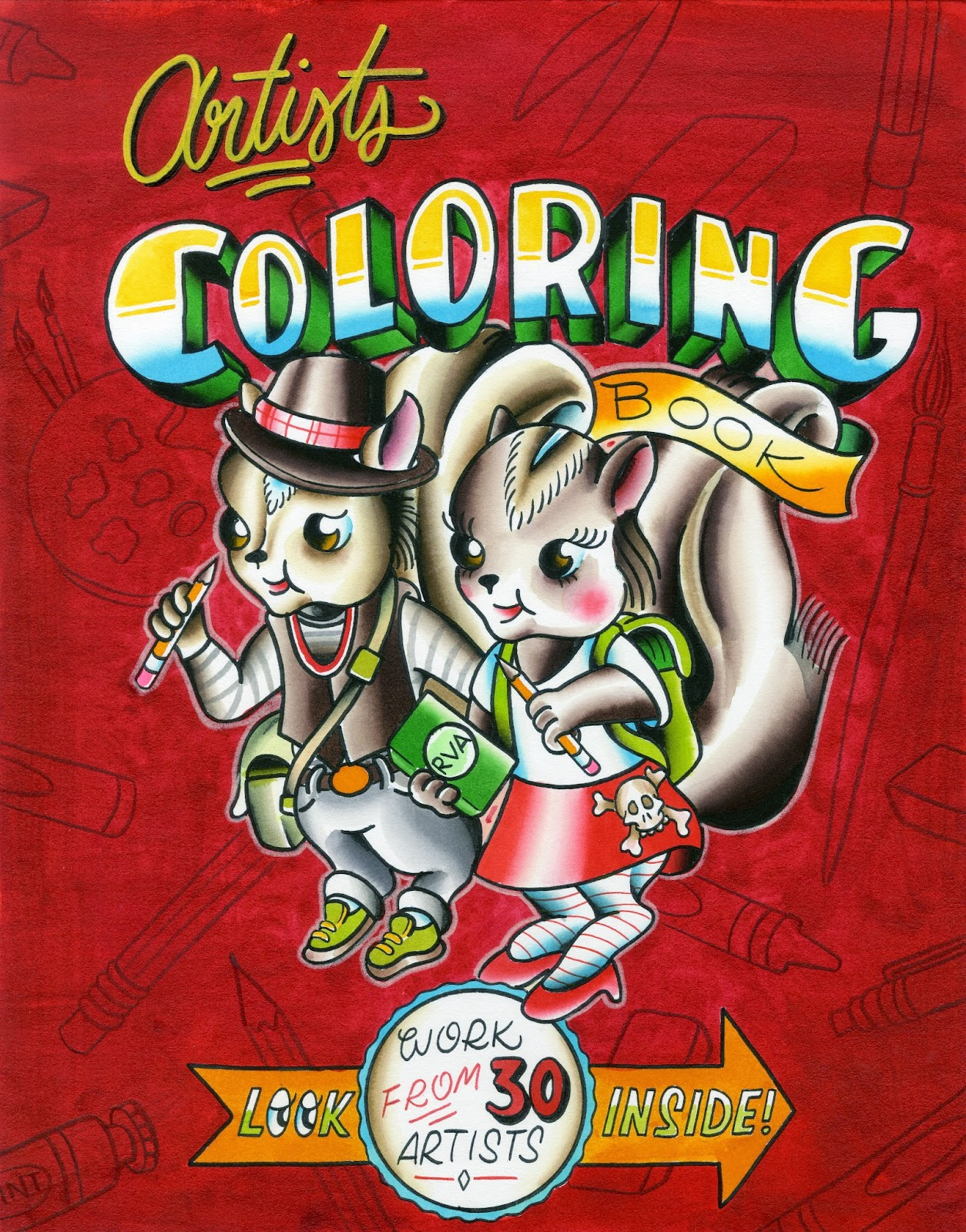 Artists Coloring Book