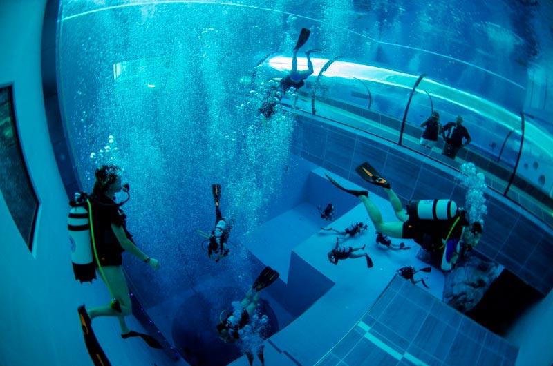 Y 40 la piscina p profonda al mondo si trova in italia for Piscina y 40 montegrotto terme