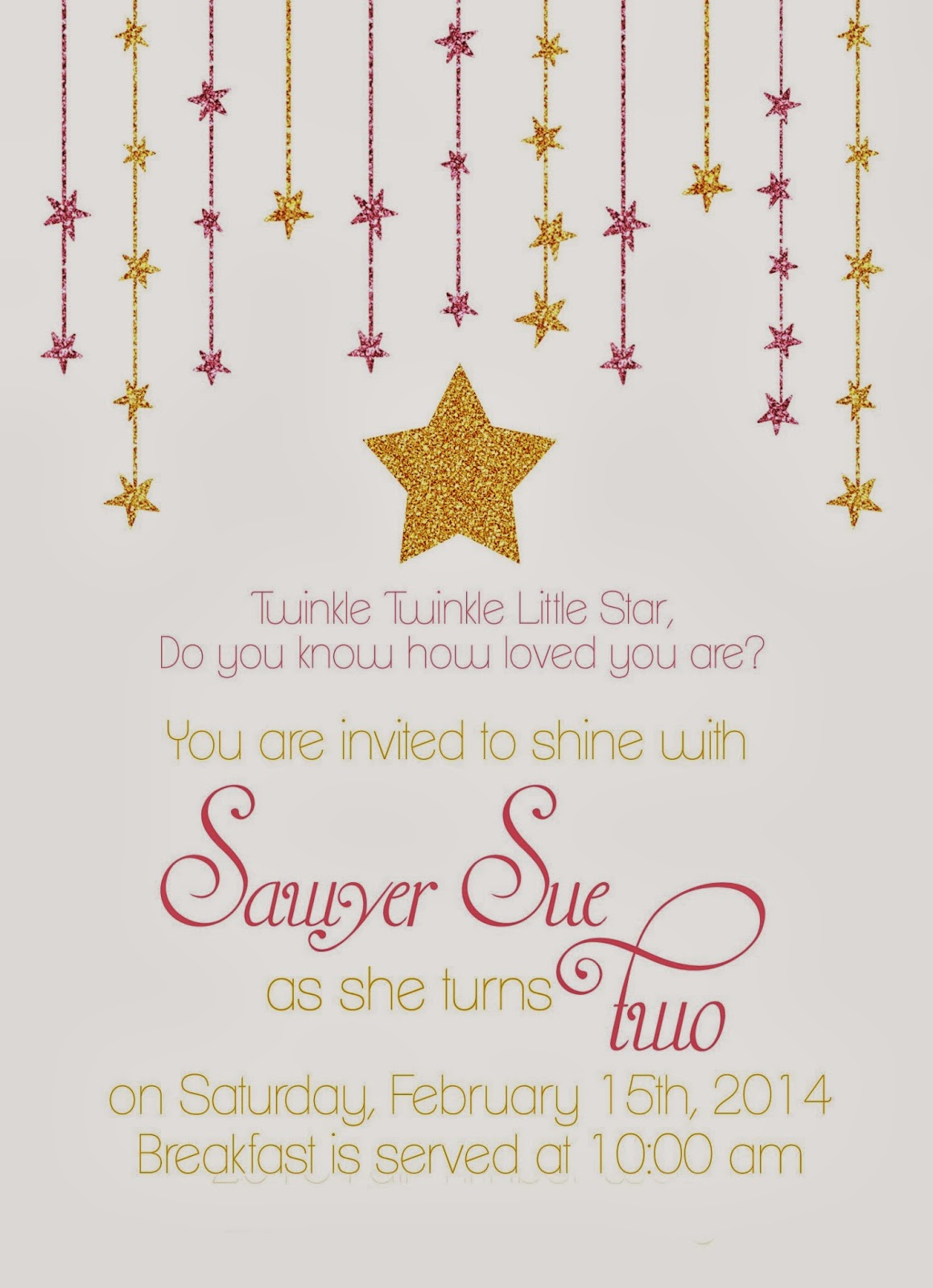 Sparkly Baby Shower Invitations is beautiful invitation example
