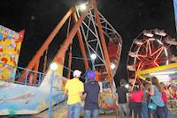 Parque de diversão, exposição de produtos agrícolas e artesanato local e rodeio com a Cia. Falcão também animam a Feira do Produtor Rural