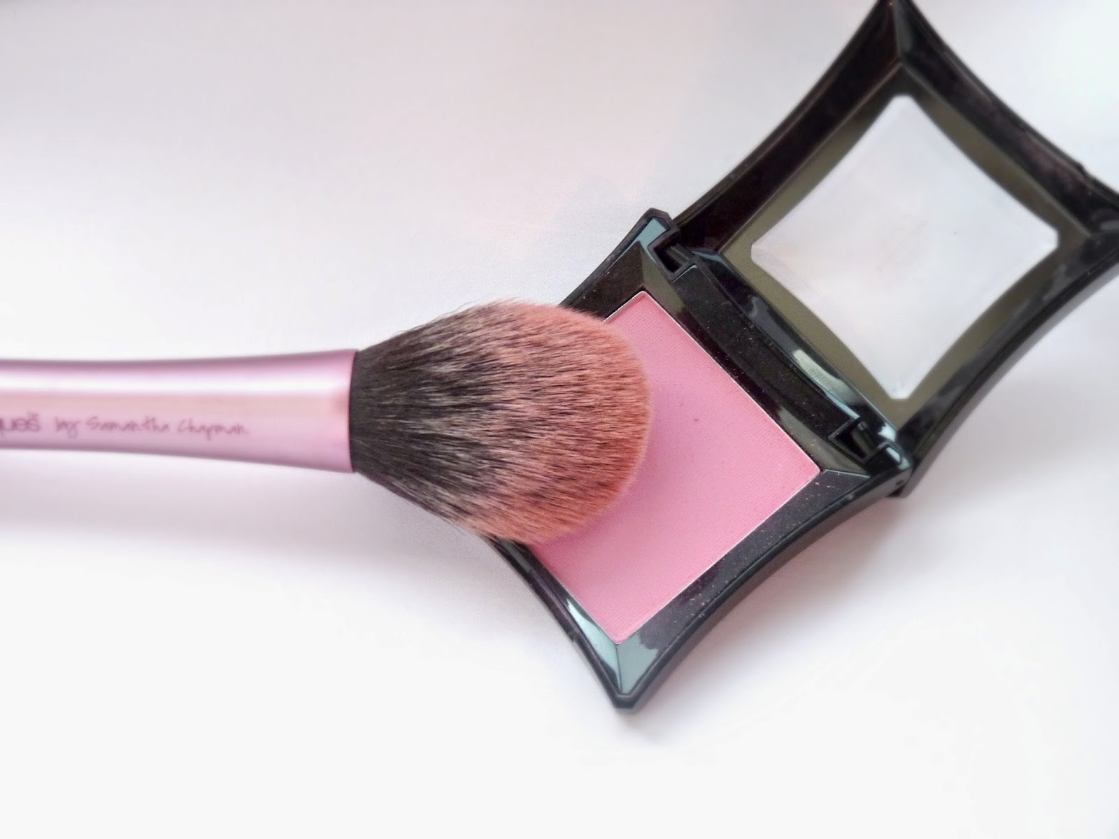 illamasqua nymph blush swatch review makeup