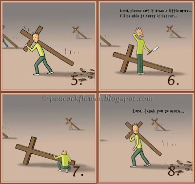 Illustration of crosses to depicts the work of God #2