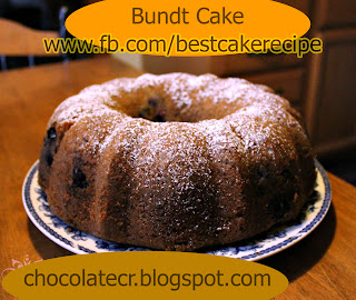 Bundt Cake Sour Cream