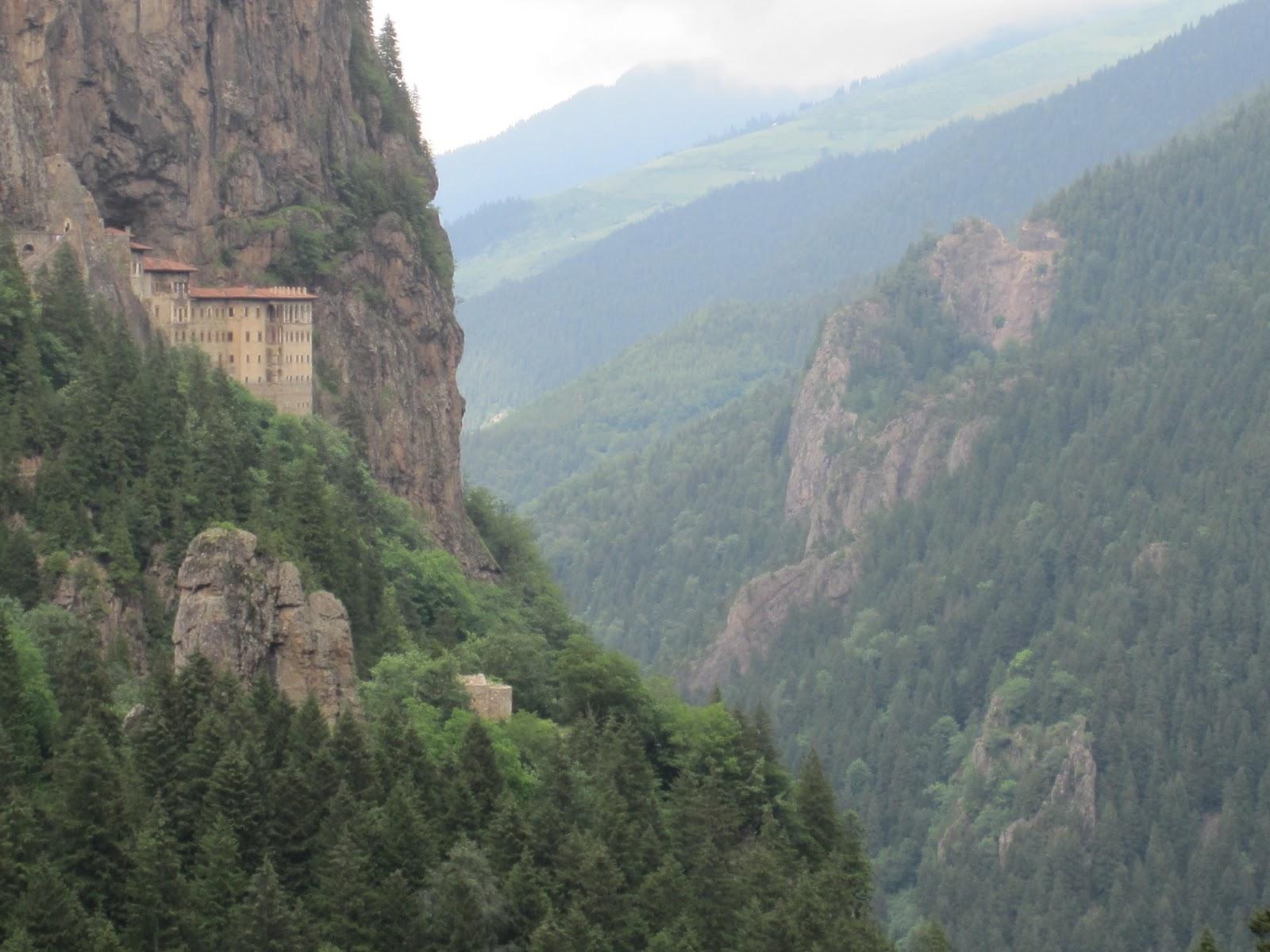 Cannundrums: Sumela Monastery