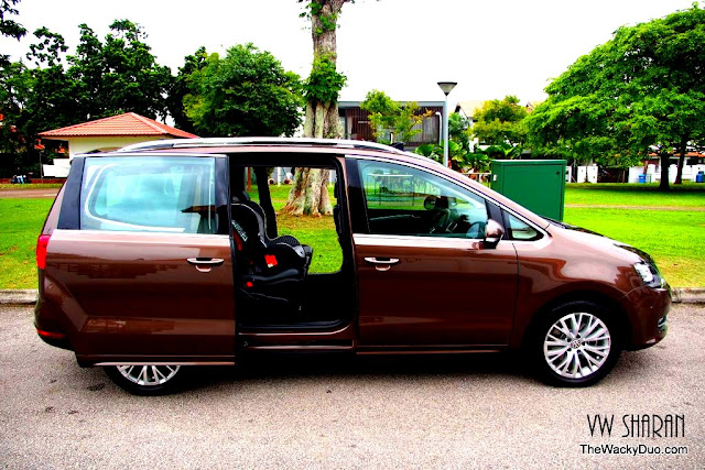 7th heaven with the seven seater volkswagen sharan. Black Bedroom Furniture Sets. Home Design Ideas