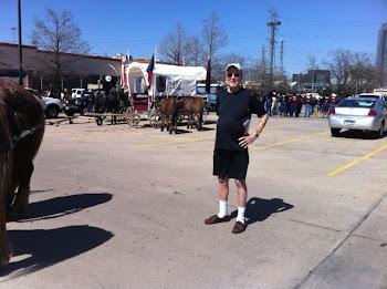 Joe talks to Texan Trail Riders