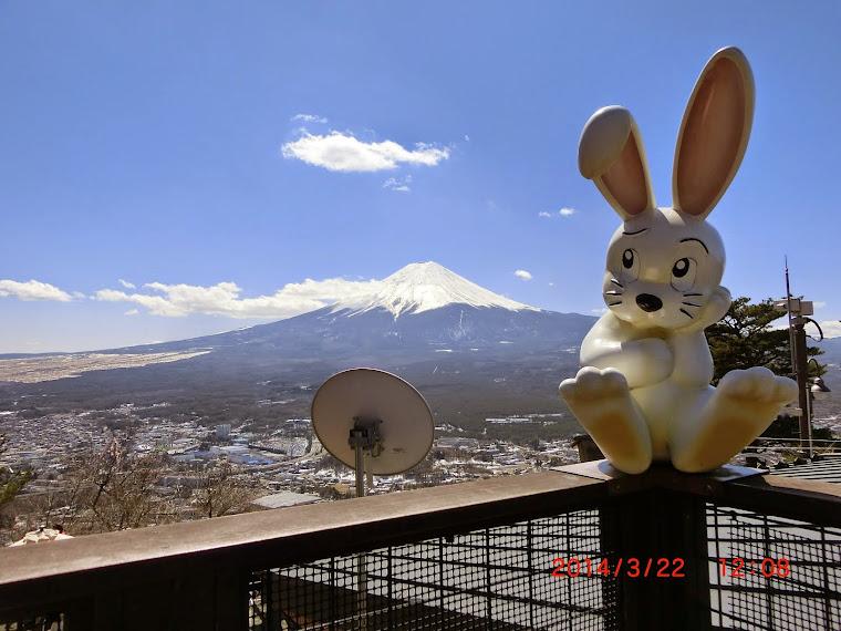 Mount Fuji from Mount Kachi Kachi