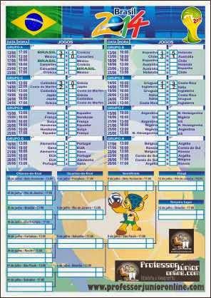 Aqui tem uma imagem com link para a tabela da Copa