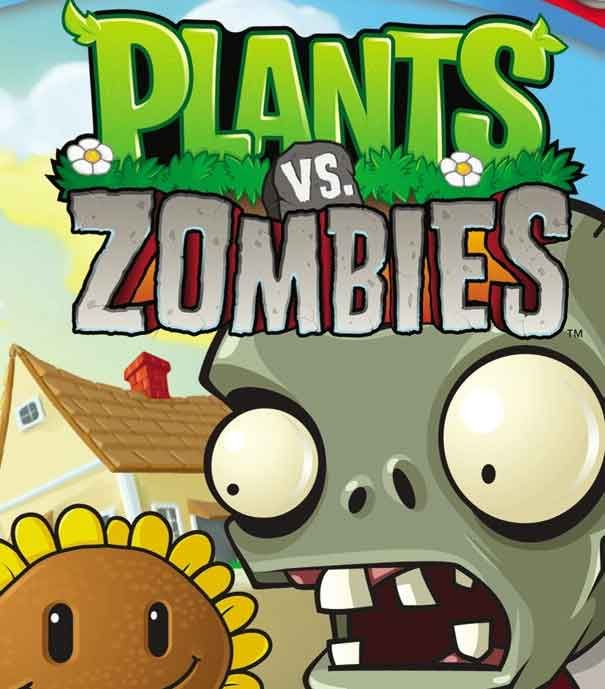 Here comes the zombie don t worry your plants will protect you