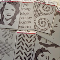 Dina Wakley Stencils
