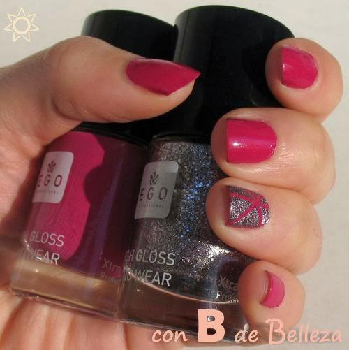 Esmaltes Lacas de uñas EGO professional