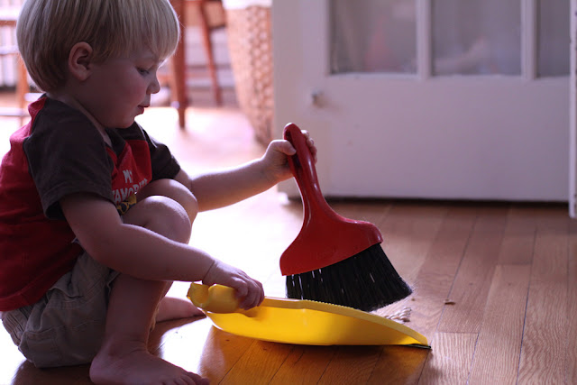 You know you have a Montessori child when . . .
