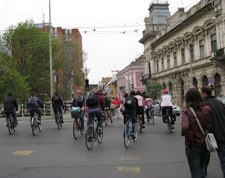 szeged biciklizők