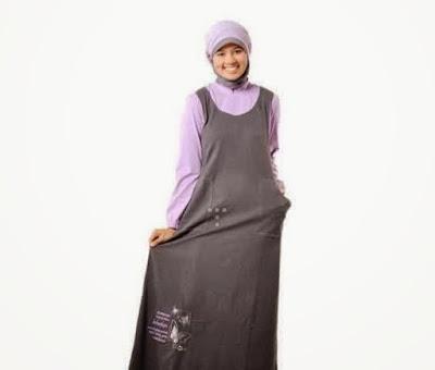 gamis muslim sederhana