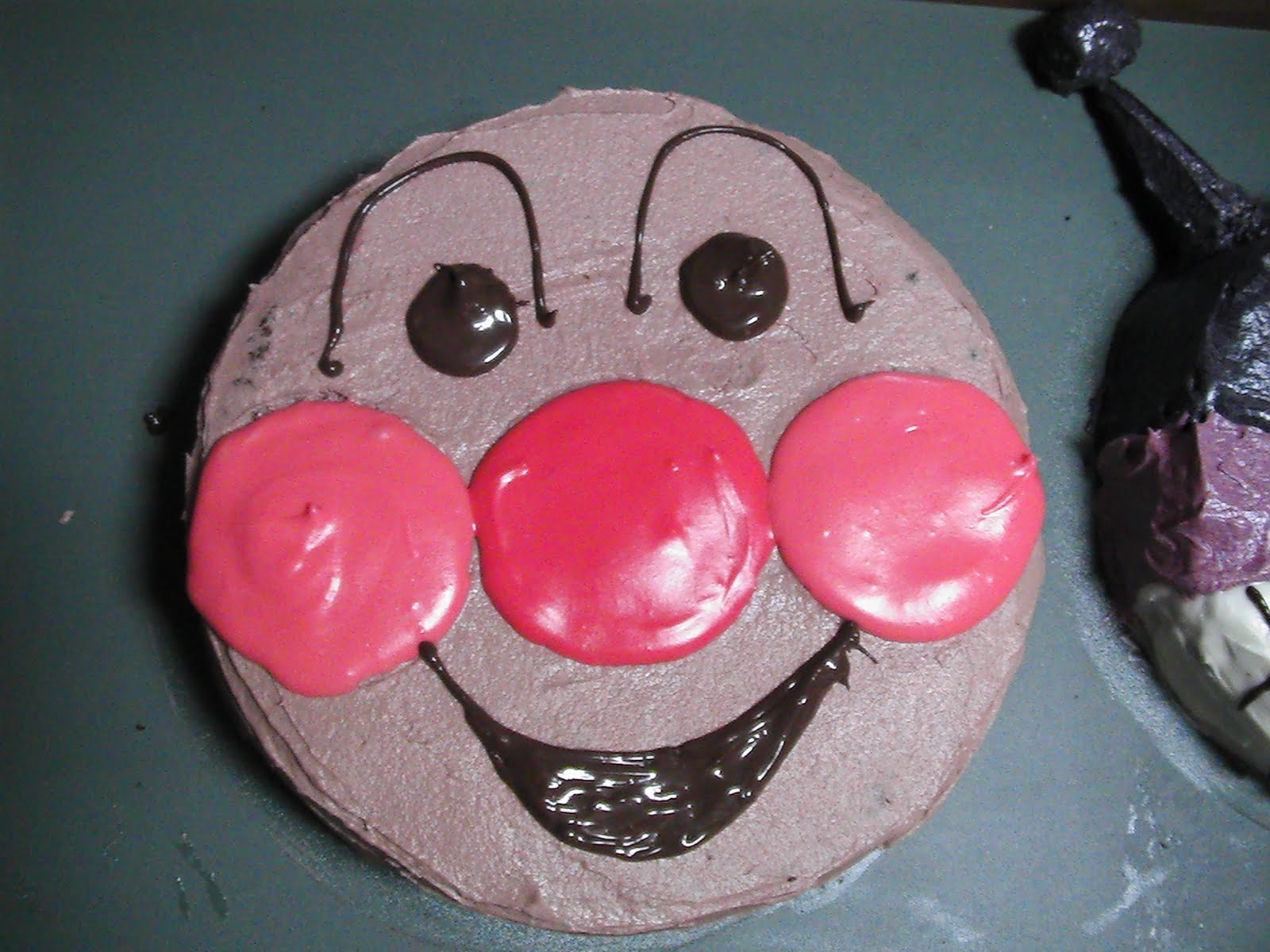 Anpanman and baikinman e 2 cakes blog for Anpanman cake decoration