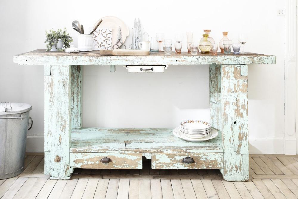 Stile shabby mobili antichi shabby chic interiors for Soggiorno shabby