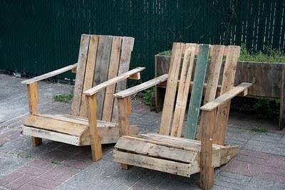 Πολυθρόνες από παλέτες