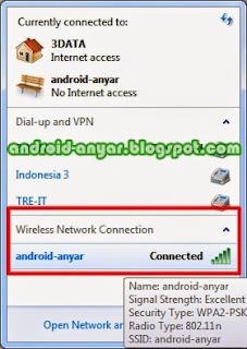 Cara Membuat Wifi/Hotspot Area dengan HP Android