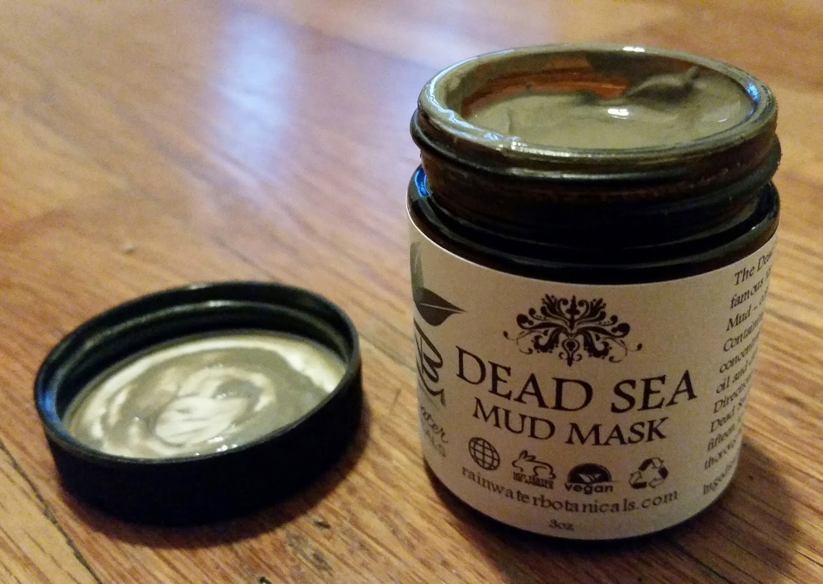 Jar of Dead Sea mud mask