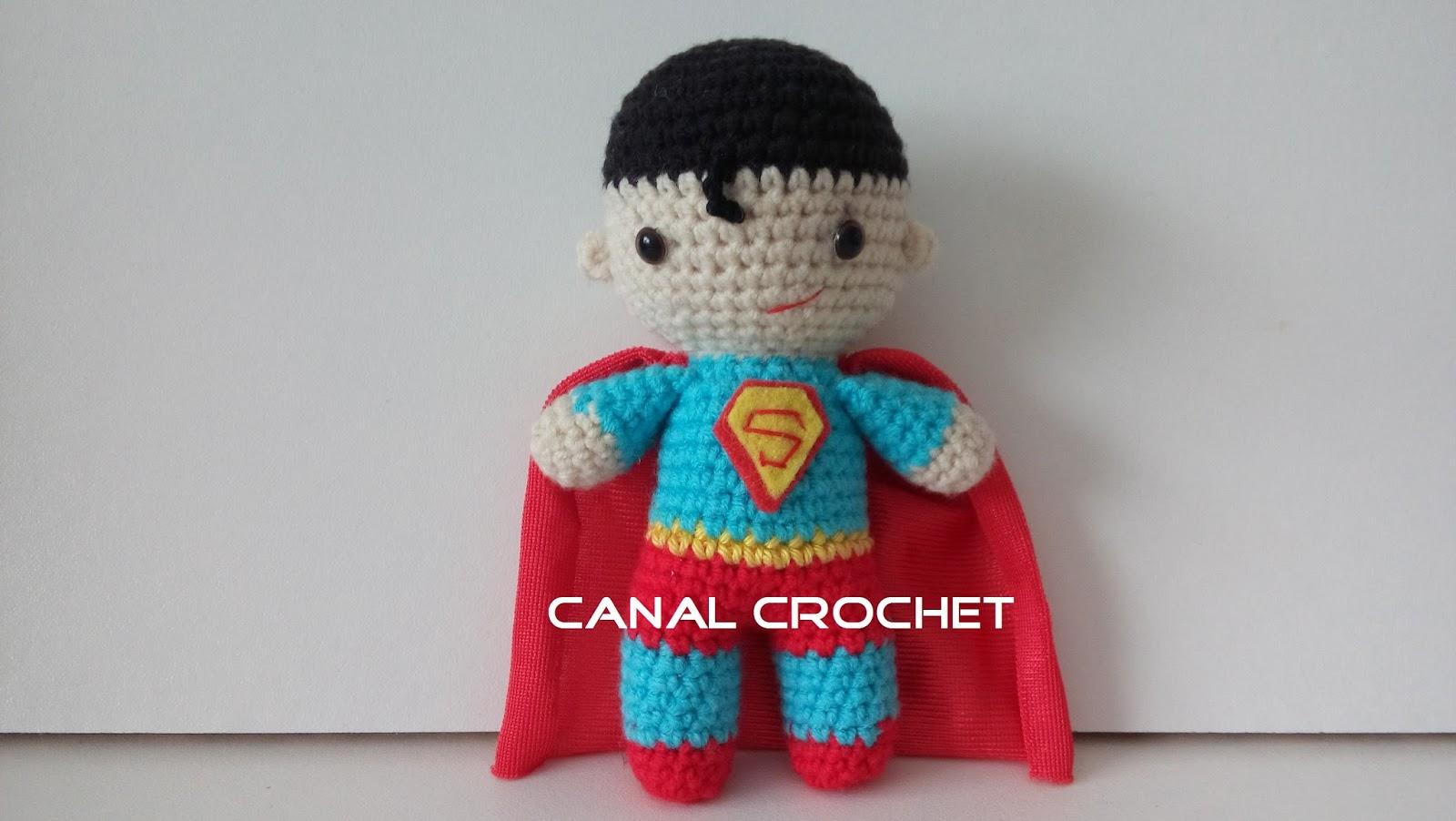 Amigurumi Spiderman Patron : CANAL CROCHET: Super Heroes amigurumi patron libre.