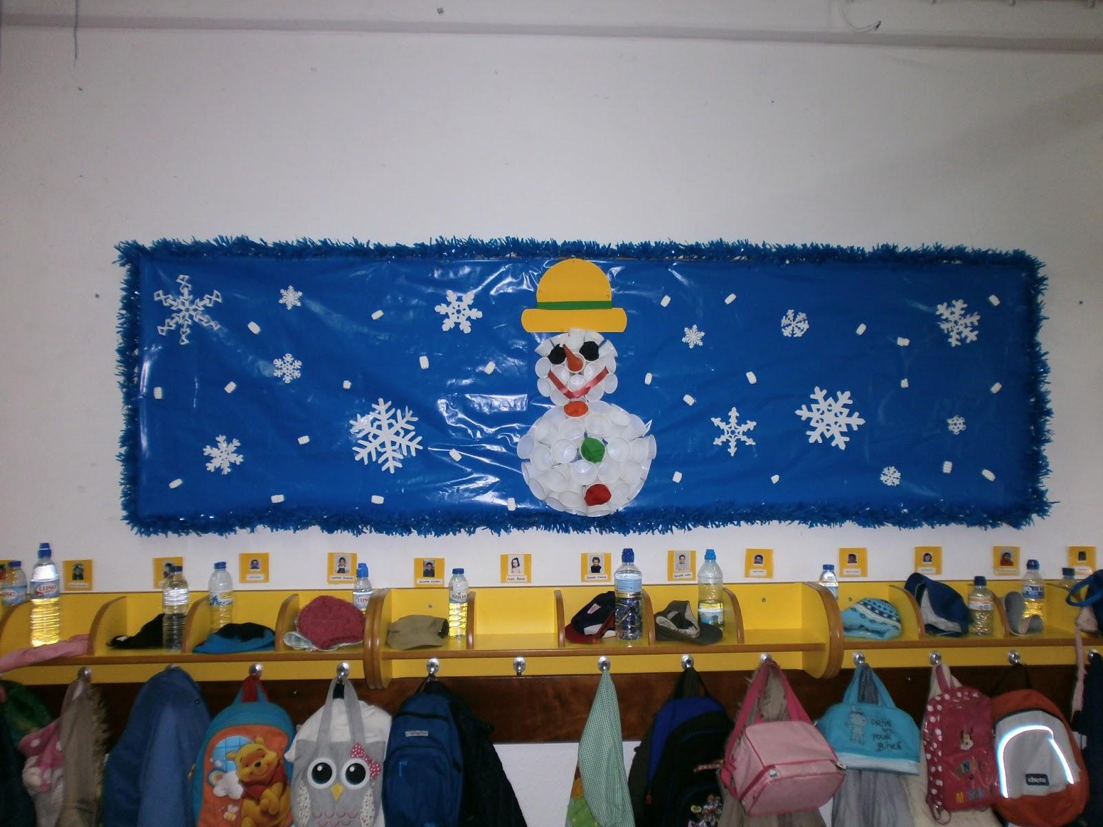 decoracao para jardim de infancia: em flor: Decoração de Inverno, no Jardim de Infância (2012/2013