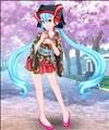 Hatsune Miku Dress Style
