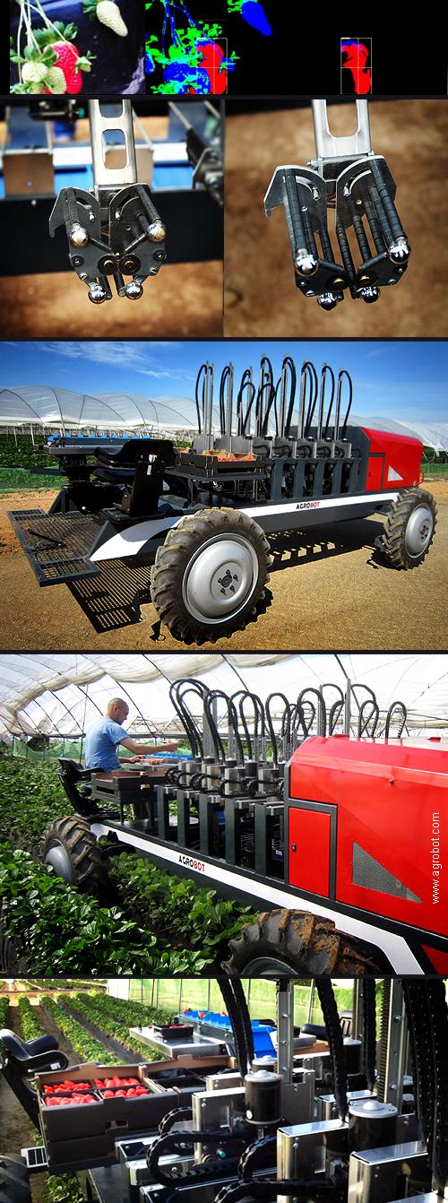 Agrobot SW6010 Strawberry Harvester