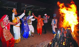 Jammu lohri festival