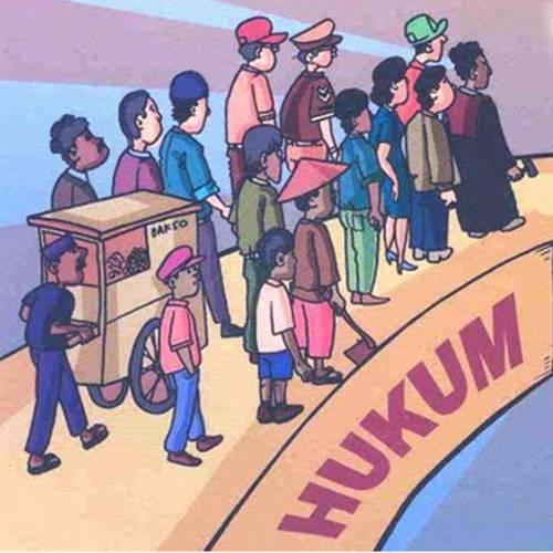 Artikel Hukum ) Tujuan hukum yang bersifat universal adalah