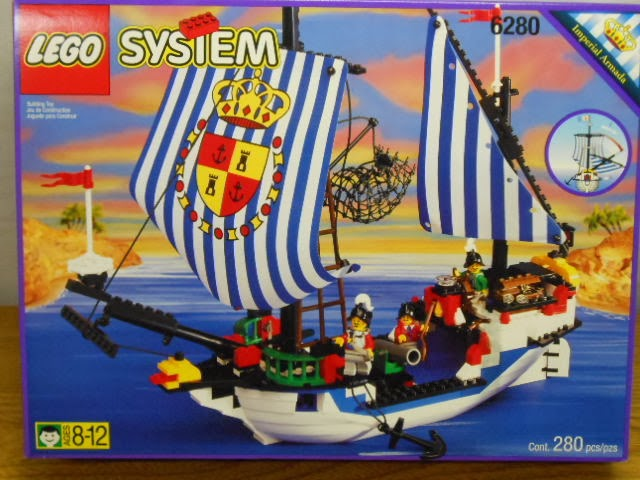 many of the imperial armada sets had something to do with brigs and jails for the pirates but they also had their own fleet of ships which werent as - Lego Pirate
