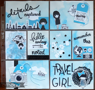 einfach amarie - travel girl pocket letter