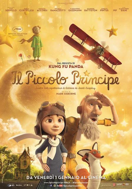 Il piccolo principe recensione poster