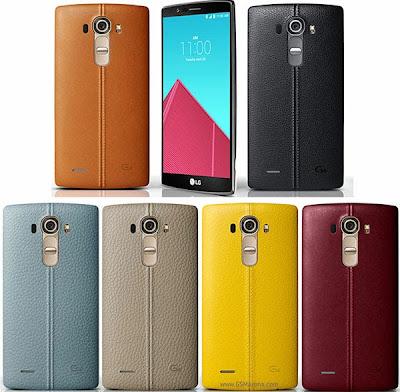 ألوان LG G4