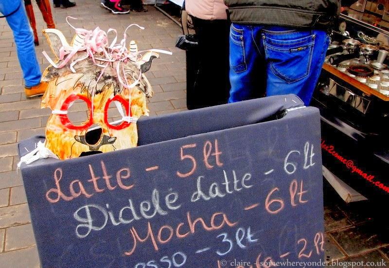 Coffee cart - Užgavénés - Vilnius, Lithuania