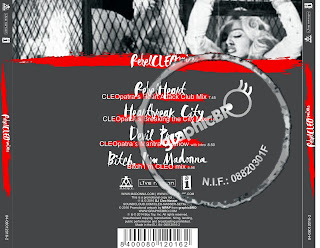 Rebel CLEO mixes Back Cover by MPAP madonnaunusualmpap2