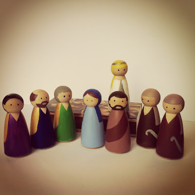 Mary, Joseph, Shepherds, Wise Men