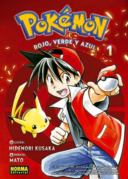 Pokémon Adventures Norma Editorial