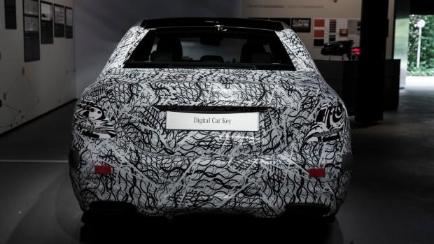 2016 Mercedes E-class Self driving car one step close back view