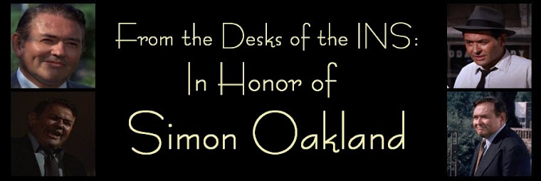 From the Desks of the INS: In Honor of Simon Oakland