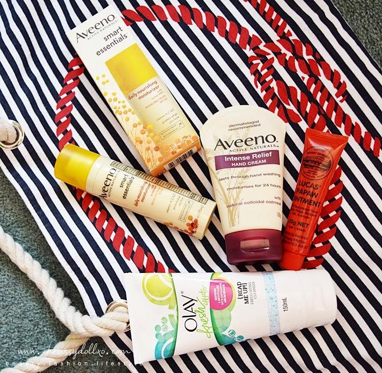 My New Skincare Products - Olay, Aveeno, Lucas' Papaw