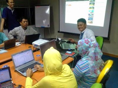 Pelatihan Blogspot Basic
