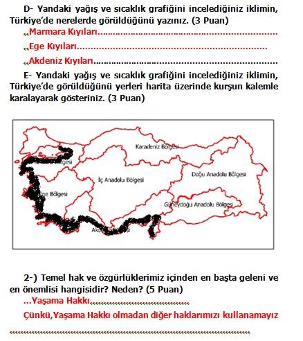 Sinif sosyal bilgiler 2 dönem 2 yazılı soruları 2012 2013