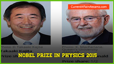 Nobel Prize in Physics 2015